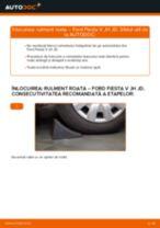 FORD FUSION carte tehnica de reparație și întreținere