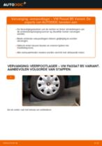 Hoe veerpootlager achteraan vervangen bij een VW Passat B5 Variant benzine – Leidraad voor bij het vervangen