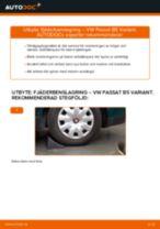 Byta fjäderbenslagring bak på VW Passat B5 Variant bensin – utbytesguide