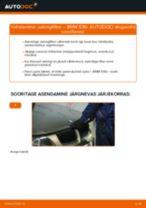 Kuidas vahetada BMW E90 bensiin salongifilter – õpetus