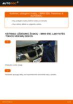 Kaip pakeisti BMW E90 benzinas uždegimo žvakių - keitimo instrukcija