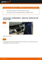 Wie BMW E90 Benzin Zündkerzen wechseln - Schritt für Schritt Anleitung