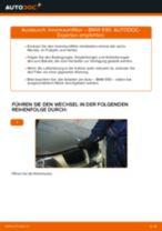 Wie BMW E90 Benzin Innenraumfilter wechseln - Anleitung