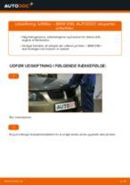 Udskift luftfilter - BMW E90 benzin | Brugeranvisning