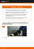 Cómo cambiar: filtro de polen - BMW E90 gasolina | Guía de sustitución