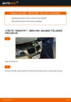 Byta tändstift på BMW E90 bensin – utbytesguide