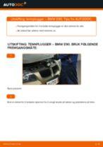 Slik bytter du tennplugger på en BMW E90 bensin – veiledning