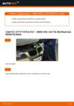 Kuinka vaihtaa sytytystulpat BMW E90 bensa-autoon – vaihto-ohje