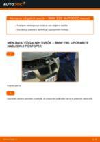 Kako zamenjati avtodel vžigalne svečke na avtu BMW E90 bensin – vodnik menjave