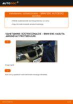 Kuidas vahetada BMW E90 bensiin süüteküünalde – õpetus