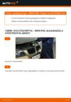 Gyújtógyertya-csere BMW E90 benzin gépkocsin – Útmutató