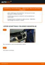 Skifte Bremseklodser BMW 3 SERIES: værkstedshåndbog