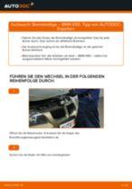 Wie Bremssteine hinten + vorne beim BMW 3 (E90) wechseln - Handbuch online