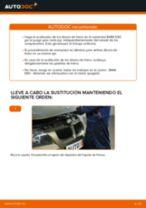 Cómo cambiar: discos de freno de la parte trasera - BMW E90 gasolina | Guía de sustitución