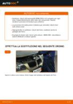 Come cambiare dischi freno della parte posteriore su BMW E90 benzina - Guida alla sostituzione
