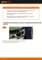 Wie Bremsklötze BMW 3 SERIES austauschen und anpassen: PDF-Anweisung