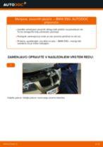 Kako zamenjati avtodel zavorne ploščice zadaj na avtu BMW E90 bensin – vodnik menjave