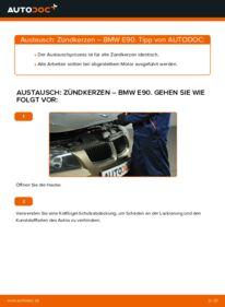 Wie der Wechsel durchführt wird: Zündkerzen BMW E90 320d 2.0 320i 2.0 318d 2.0 tauschen
