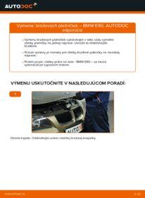 Ako vykonať výmenu: Brzdové Platničky na 320d 2.0 BMW E90