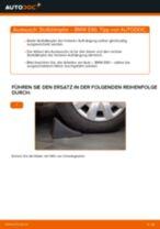 Einbau von Stoßdämpfer Satz beim BMW 3 (E90) - Schritt für Schritt Anweisung