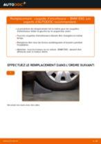 Comment changer : coupelle d'amortisseur avant sur BMW E90 essence - Guide de remplacement