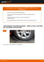 Hoe Stuurkogel vervangen en installeren BMW X3: pdf tutorial