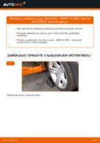 Kako zamenjati zadaj in spredaj Blažilnik BMW X3 (E83) - vodič spletu