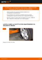Cómo cambiar: amortiguador telescópico de la parte delantera - BMW X3 E83 diésel | Guía de sustitución