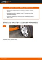 Zamenjavo Vzmeti BMW X3: navodila za uporabo