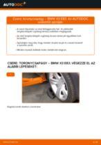 SEAT CORDOBA Vario (6K5) Axiális Csukló Vezetőkar cseréje: kézikönyv pdf