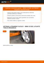 Kaip pakeisti BMW X3 E83 dyzelis atraminio guolio: priekis - keitimo instrukcija