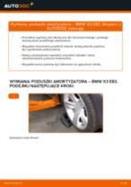 Jak wymienić poduszka amortyzatora przód w BMW X3 E83 diesel - poradnik naprawy