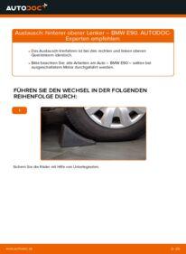 Wie der Wechsel durchführt wird: Querlenker 320d 2.0 BMW E90 tauschen