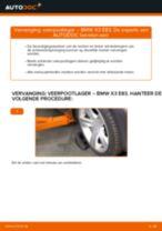 Schokbreker taatspot veranderen BMW X3: gratis pdf