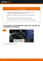 Aanbevelingen van de automonteur voor het vervangen van BMW BMW E60 525d 2.5 Ruitenwissers
