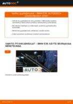 Kuinka vaihtaa pyyhkijänsulat eteen BMW E39-autoon – vaihto-ohje