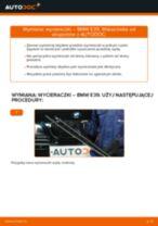Jak wymienić wycieraczki przód w BMW E39 - poradnik naprawy