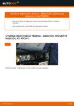 Jak vyměnit zadní brzdový třmen na BMW E39 – návod k výměně