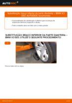 Tutorial de reparo e manutenção BMW X3