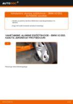 VOLVO C30 vahetada Roolivardapea : käsiraamatute pdf