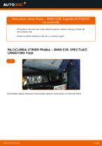 Cum să schimbați: etrier frana din spate la BMW E39 | Ghid de înlocuire