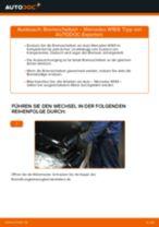 MERCEDES-BENZ A-CLASS (W169) Bremssattel Reparatursatz ersetzen - Tipps und Tricks