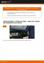 Comment changer : étrier de frein avant sur BMW E39 - Guide de remplacement