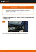 Come cambiare pinza de freno della parte posteriore su BMW E39 - Guida alla sostituzione