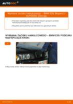 Jak wymienić zacisku hamulcowego tył w BMW E39 - poradnik naprawy