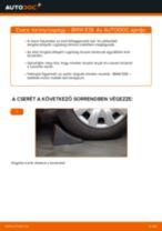 Elülső toronycsapágy-csere BMW E39 gépkocsin – Útmutató