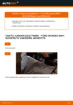 Vaiheittainen PDF-opas: kuinka vaihtaa FORD MONDEO III Estate (BWY) -mallin Alatukivarsi
