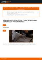 Online návod, ako svojpomocne vymeniť Ložisko tlmiča na aute CITROËN C8