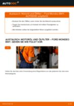 Getriebelagerung wechseln FORD MONDEO: Werkstatthandbuch