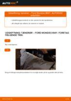 Trin-for-trin reparationsvejledning til Ford Mondeo b5y